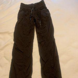 Lululemon Cargo Style Pants (lined) - Size 2